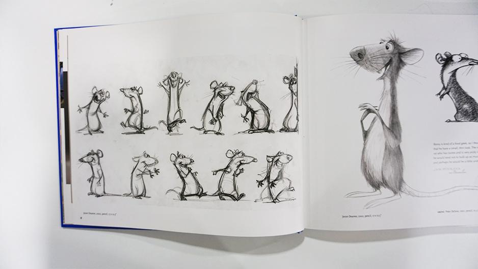 Imagen galeria Ratatouille artbook 8