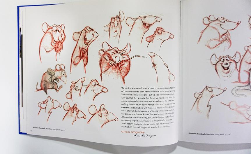 Imagen galeria Ratatouille artbook 16
