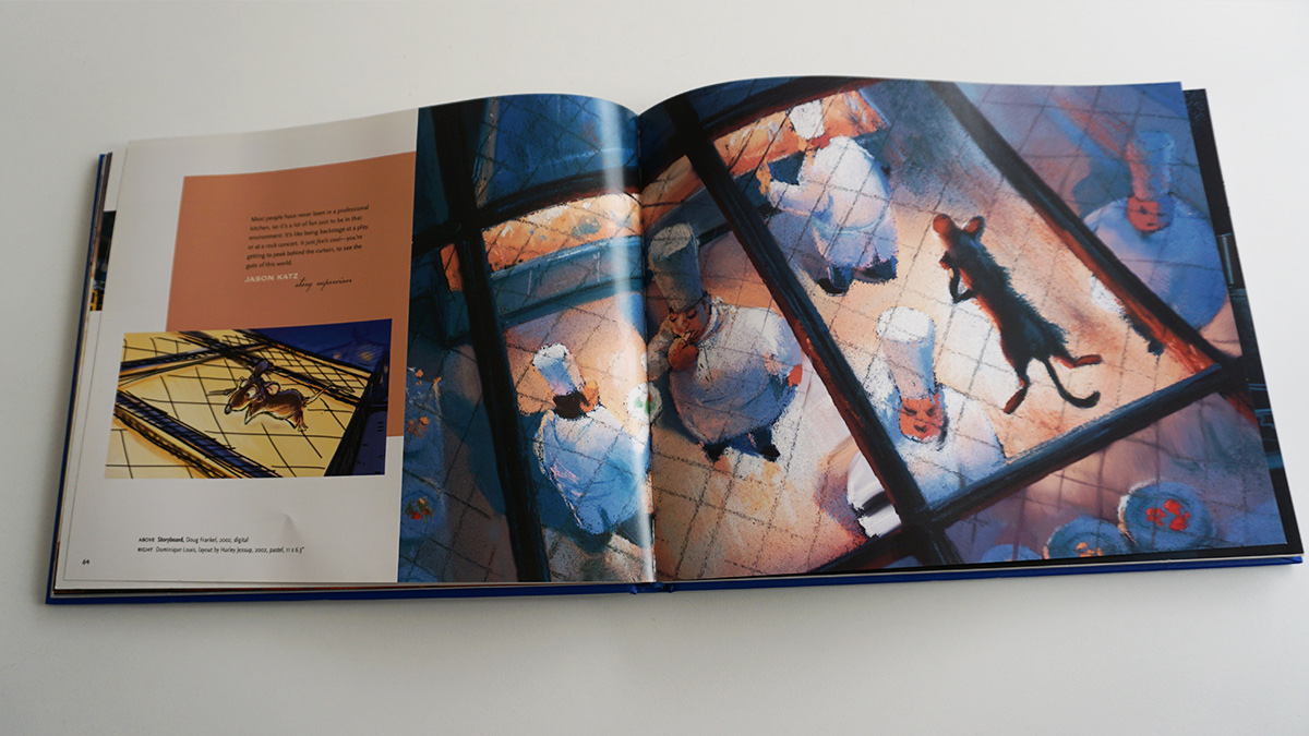 Imagen galeria Ratatouille artbook 6