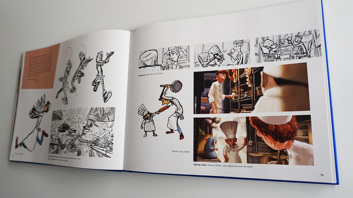 Imagen galeria Ratatouille artbook 13
