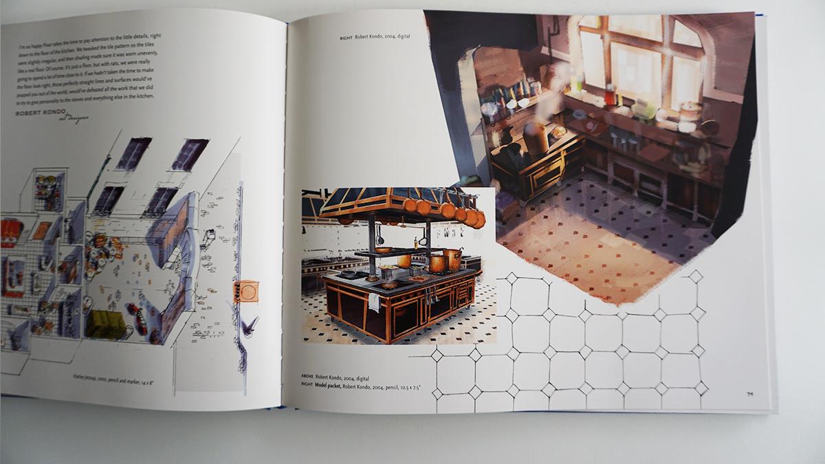 Imagen galeria Ratatouille artbook 12