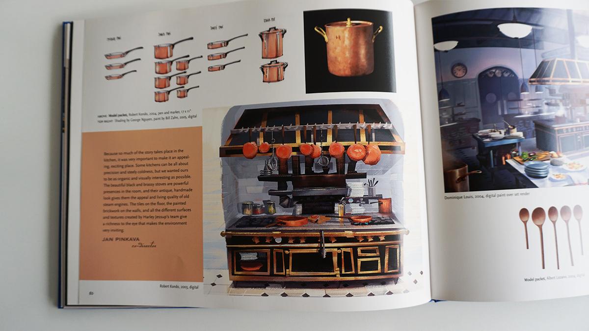 Imagen galeria Ratatouille artbook 5