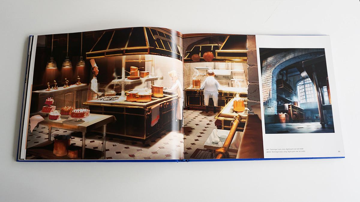 Imagen galeria Ratatouille artbook 4