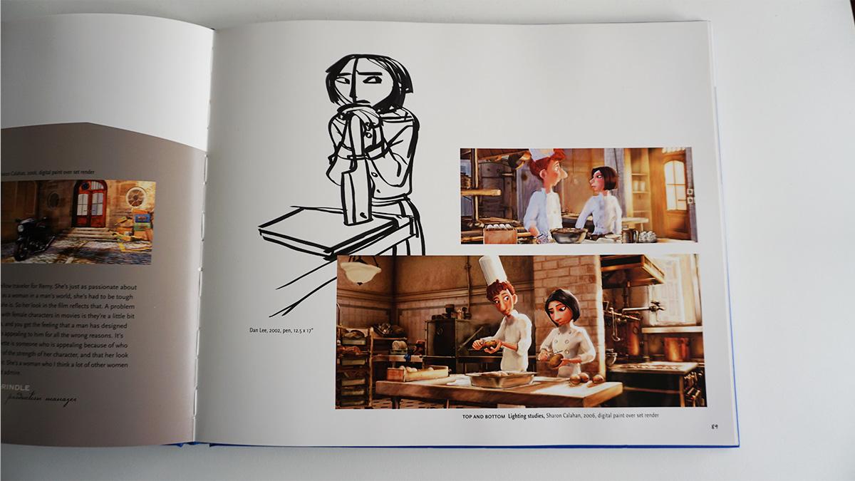 Imagen galeria Ratatouille artbook 3