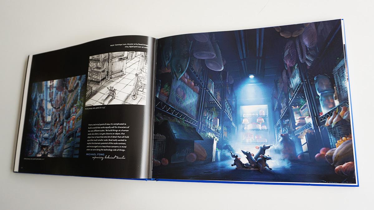 Imagen galeria Ratatouille artbook 11