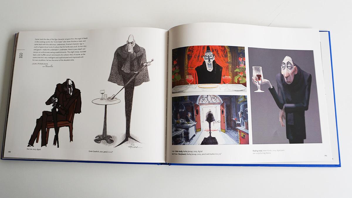 Imagen galeria Ratatouille artbook 2