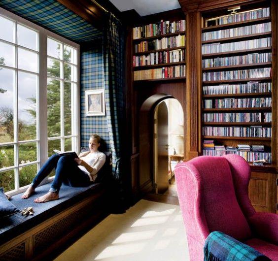 Imagen galeria 15 ideas de bibliotecas de ensueño 0