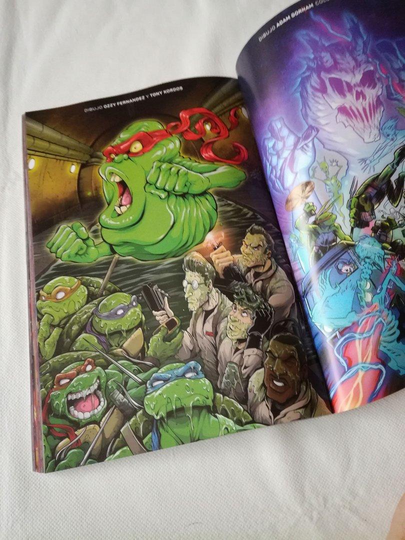 Imagen galeria cazafantasmas tortugas ninja galeria 1