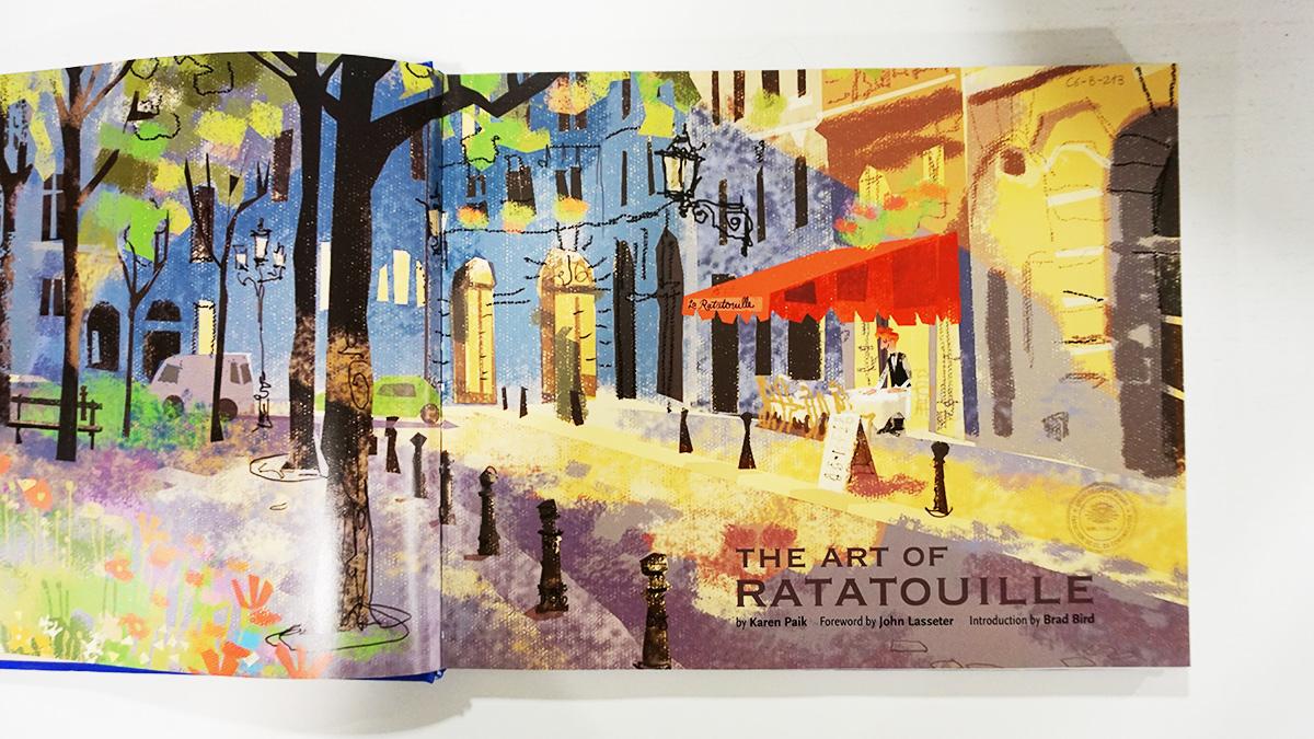 Imagen galeria Ratatouille artbook 10