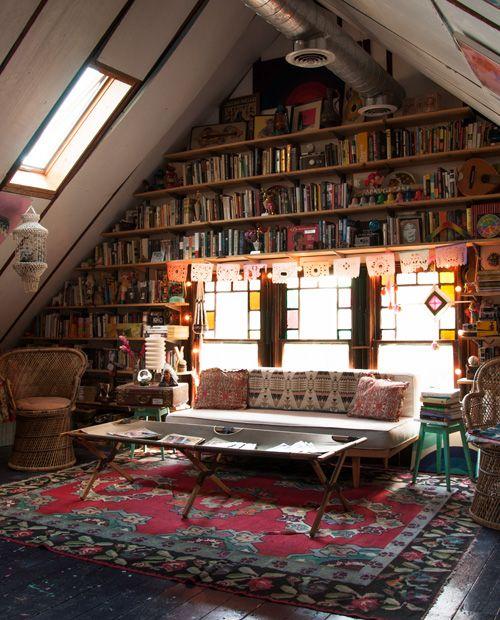 Imagen galeria 15 ideas de bibliotecas de ensueño 1