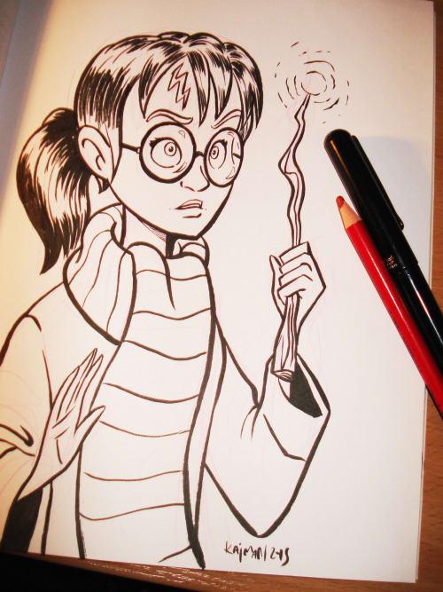 Imagen galeria  11 fanarts de Harry Potter con el género intercambiado 10