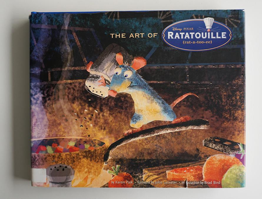 Imagen galeria Ratatouille artbook 9