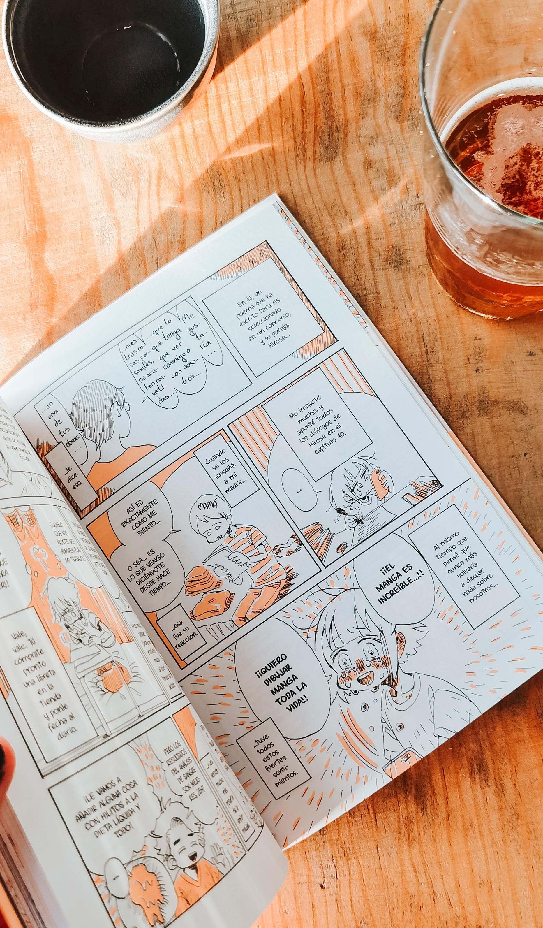 Páginas interiores del cómic de Kabi Nagata