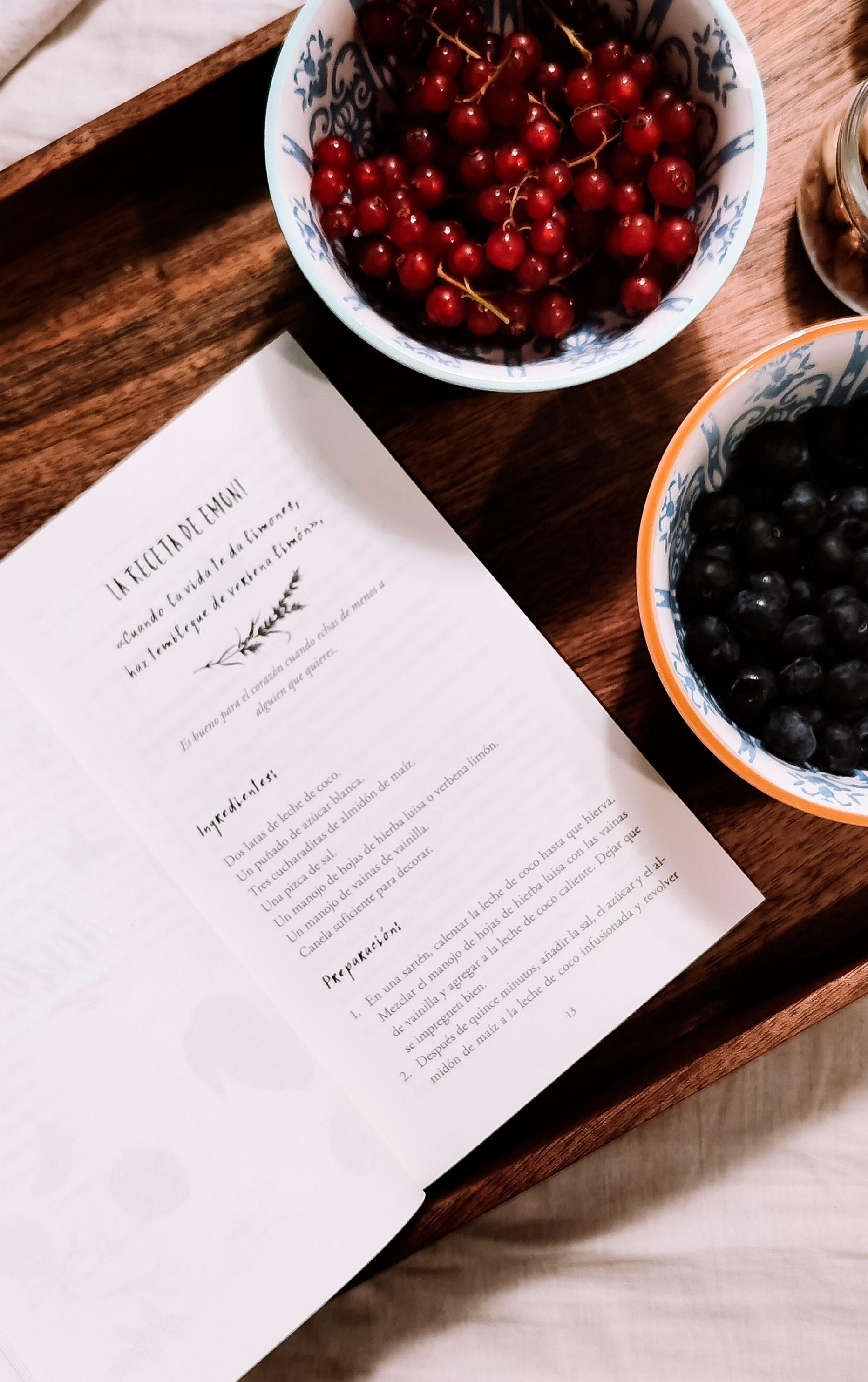 Ejemplo de una de las recetas de El ingrediente secreto de Emoni Santiago