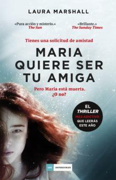Portada libro - Maria quiere ser tu amiga