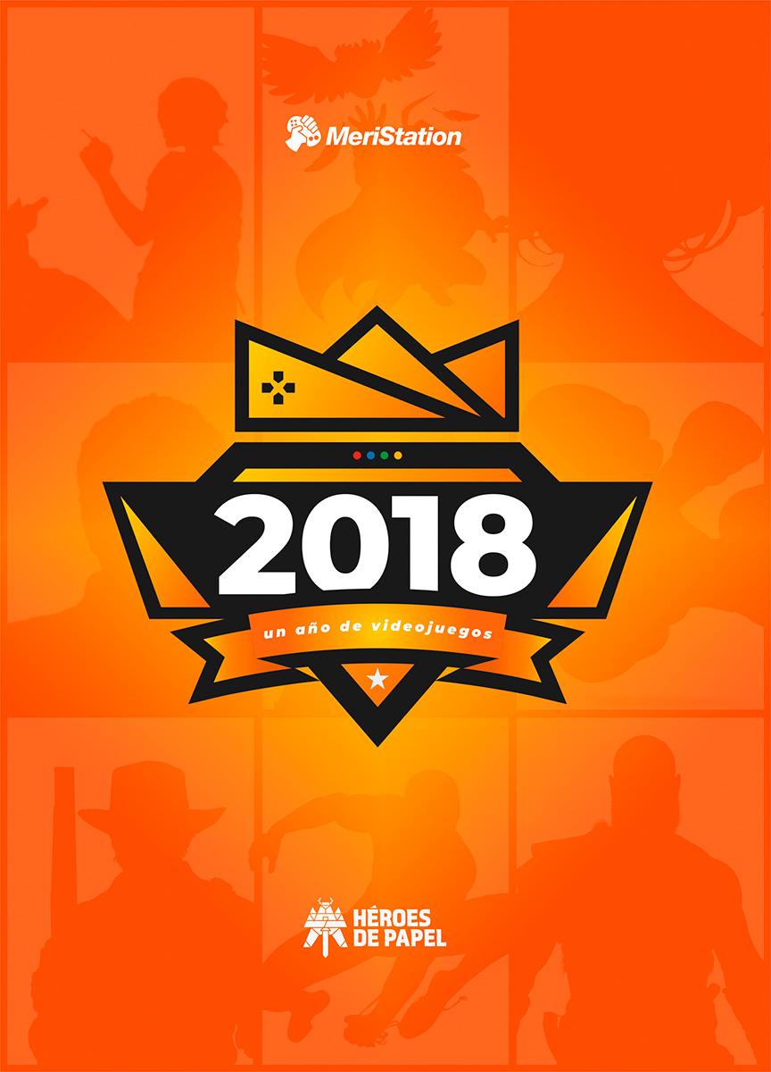 Portada libro - 2018: Un año videojuegos, de Meristation