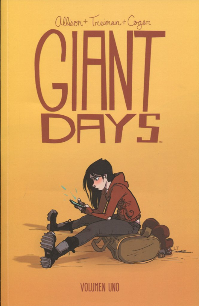 Portada libro - Giant Days volumen 1