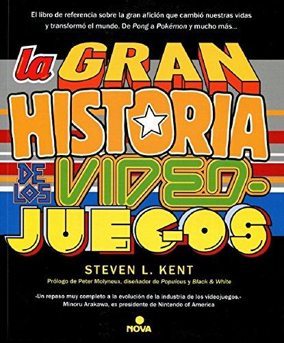 Portada libro - La gran historia de los videojuegos