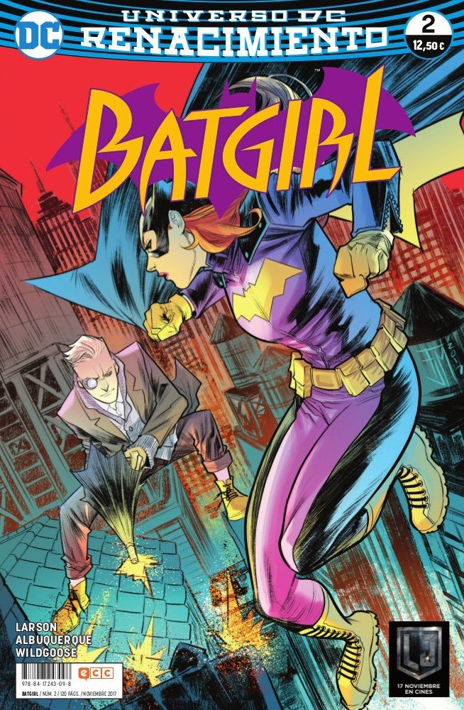 Portada libro - Batgirl 2 (Batgirl (renacimiento))