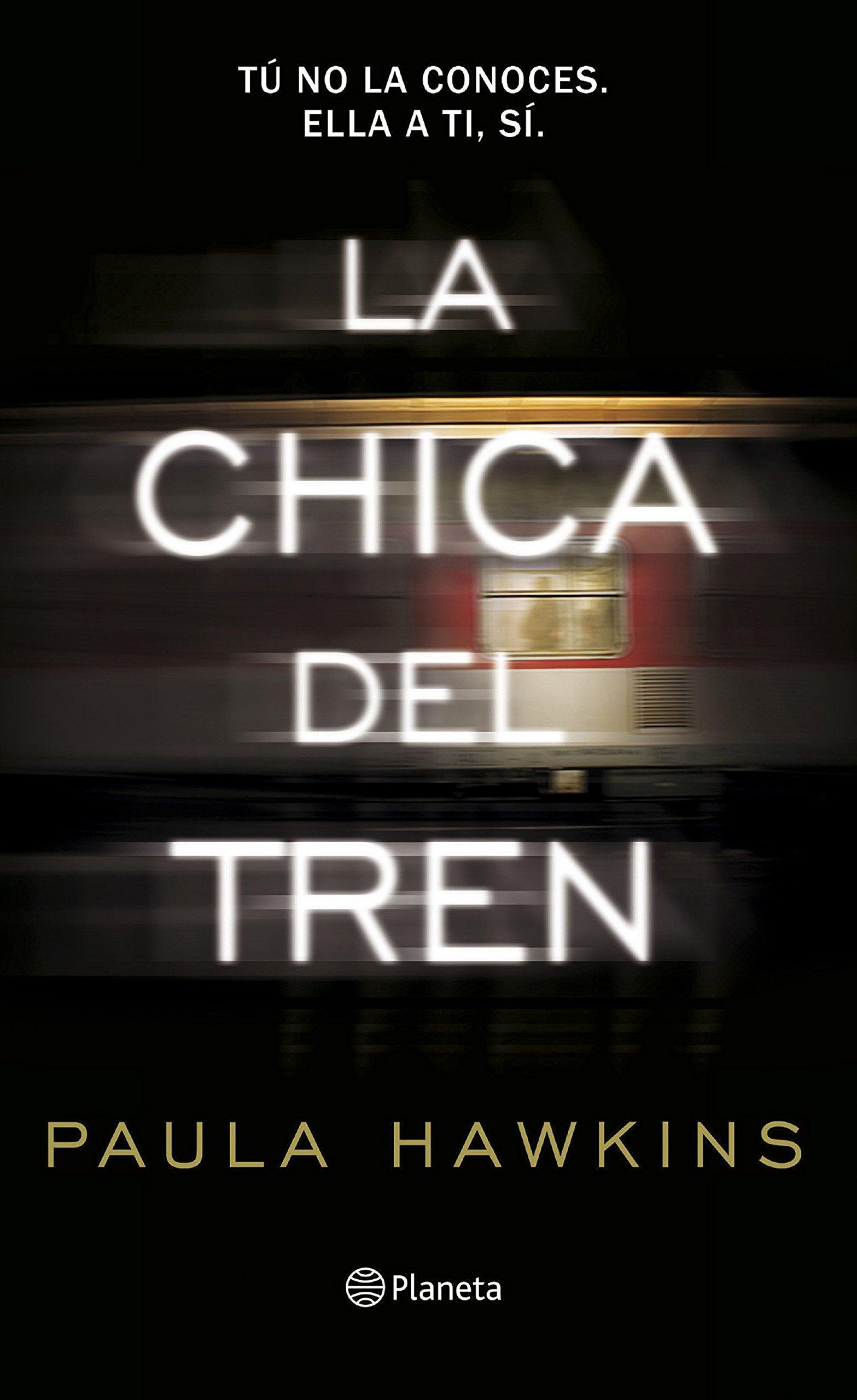 Portada libro - La chica del tren
