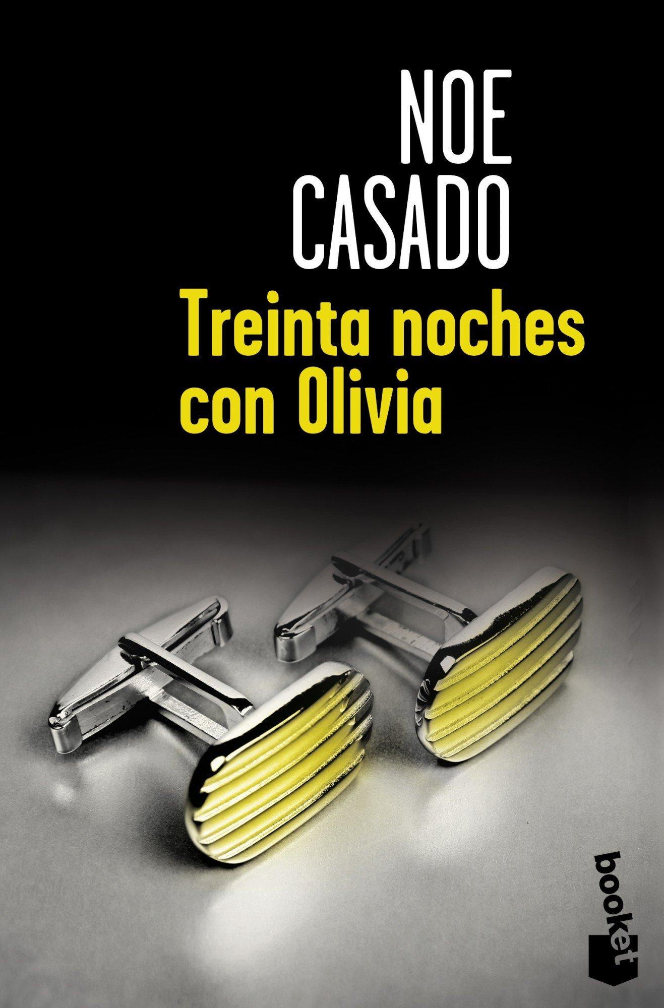 Portada libro - Treinta noches con Olivia
