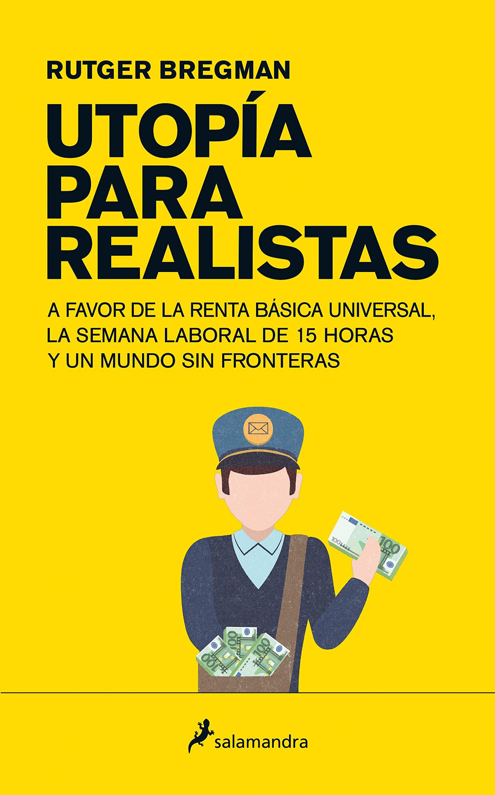 Portada libro - Utopía para realistas