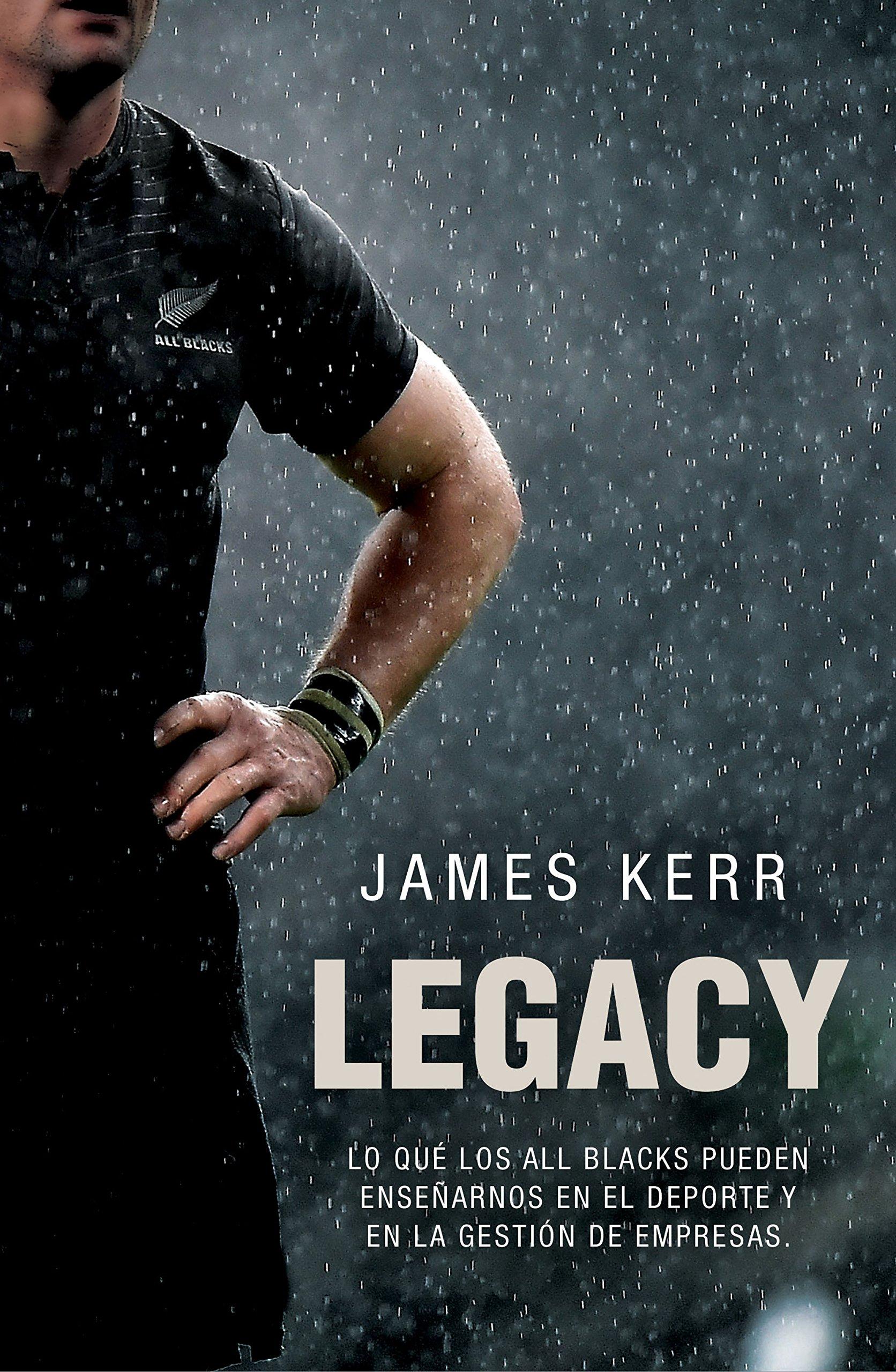 Portada libro - Legacy (Córner)