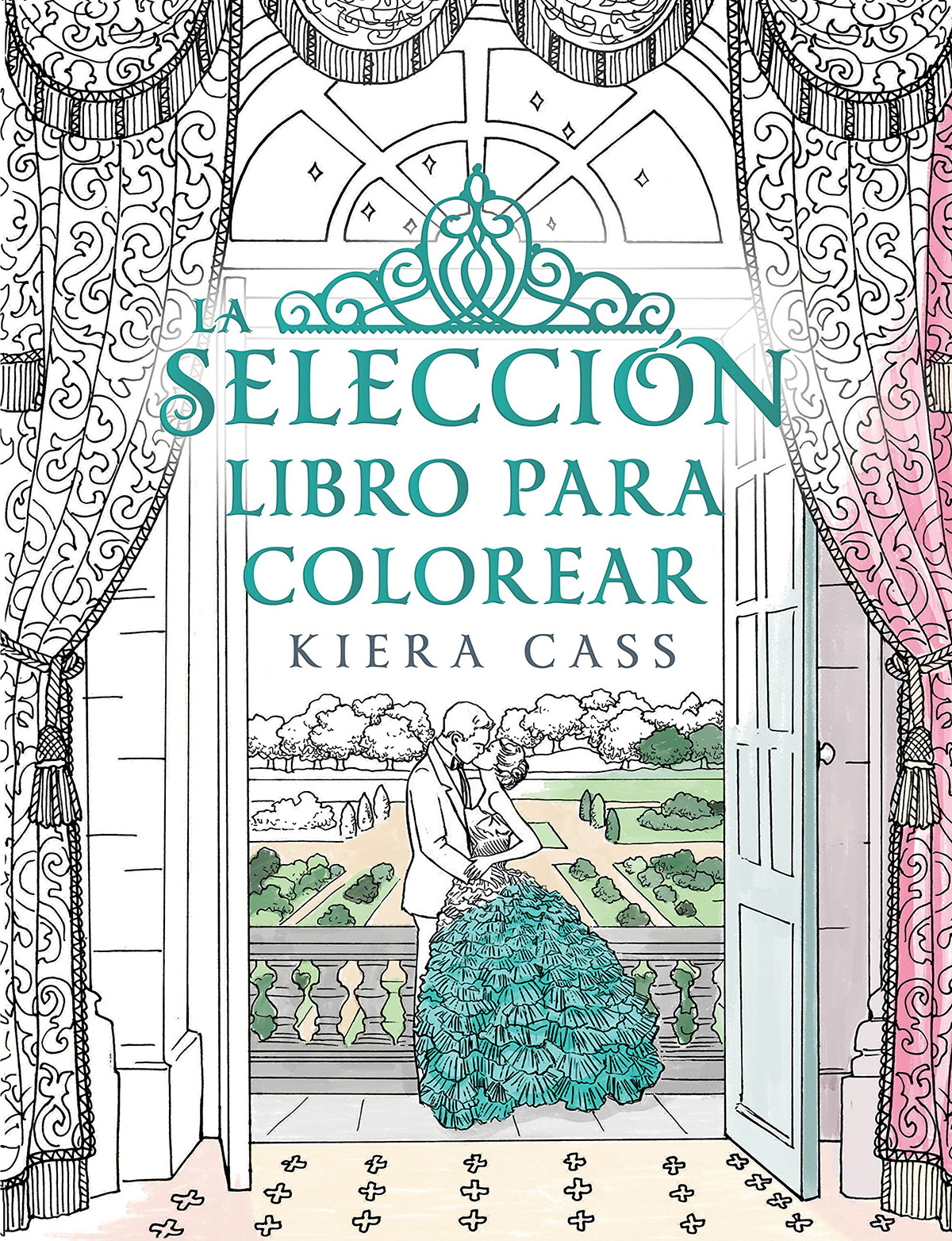 Portada libro - La selección. Libro para colorear