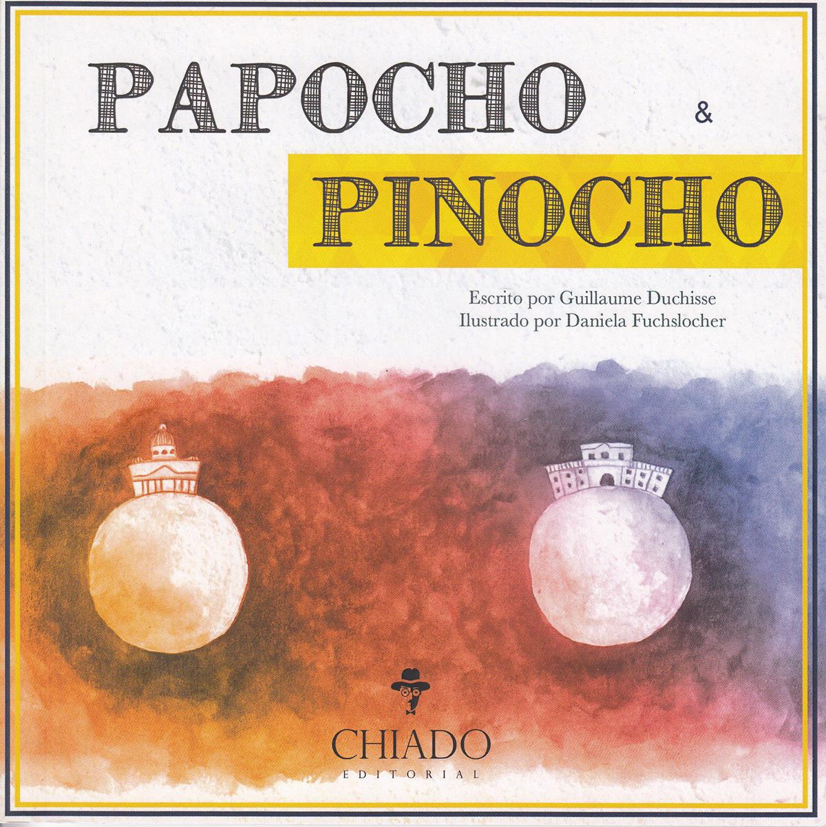 Portada libro - Papocho & Pinocho