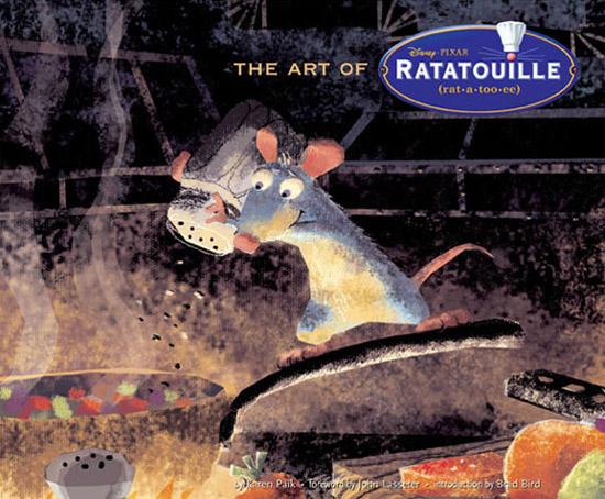 Portada libro - Artbook de Ratatouille