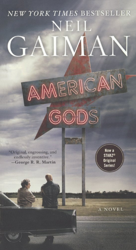 Portada libro - American Gods