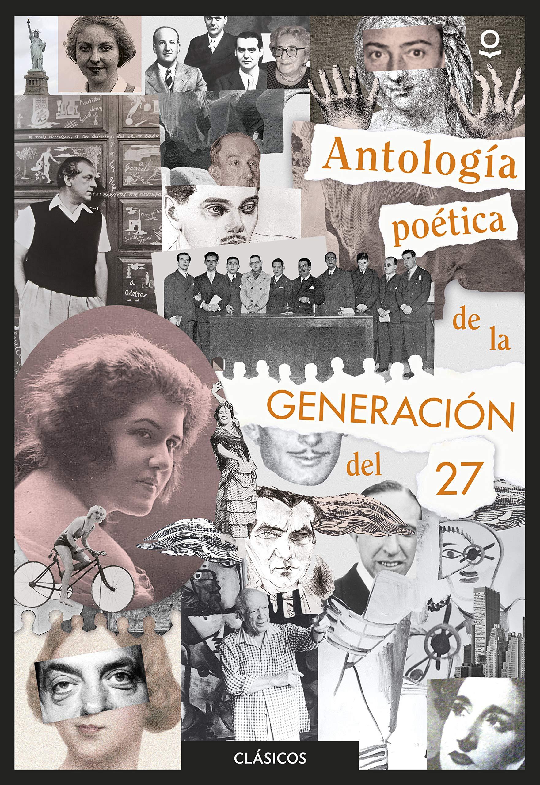 Portada libro - Antología poética de la generación del 27