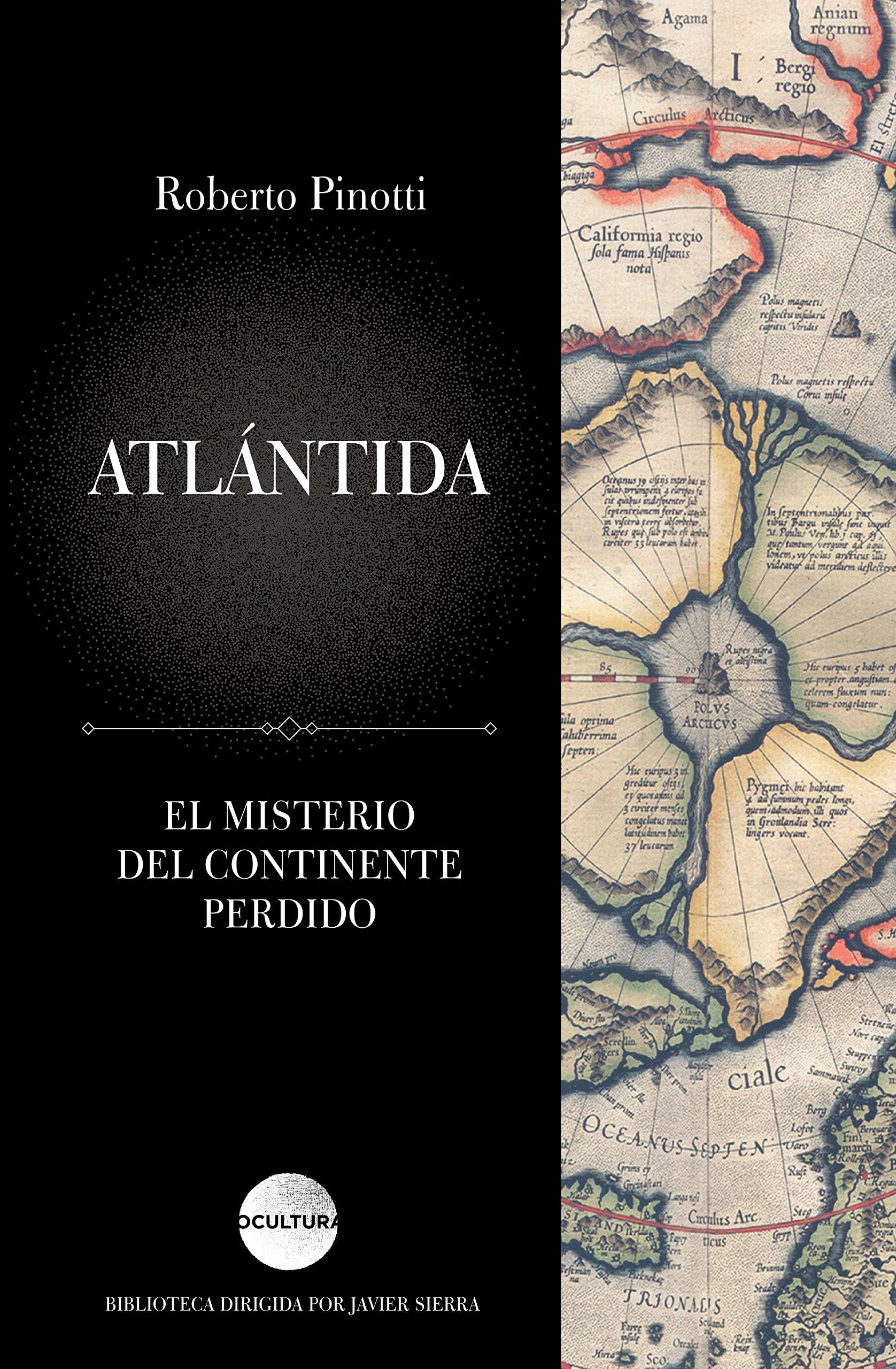 Portada libro - Atlántida: El misterio del continente perdido