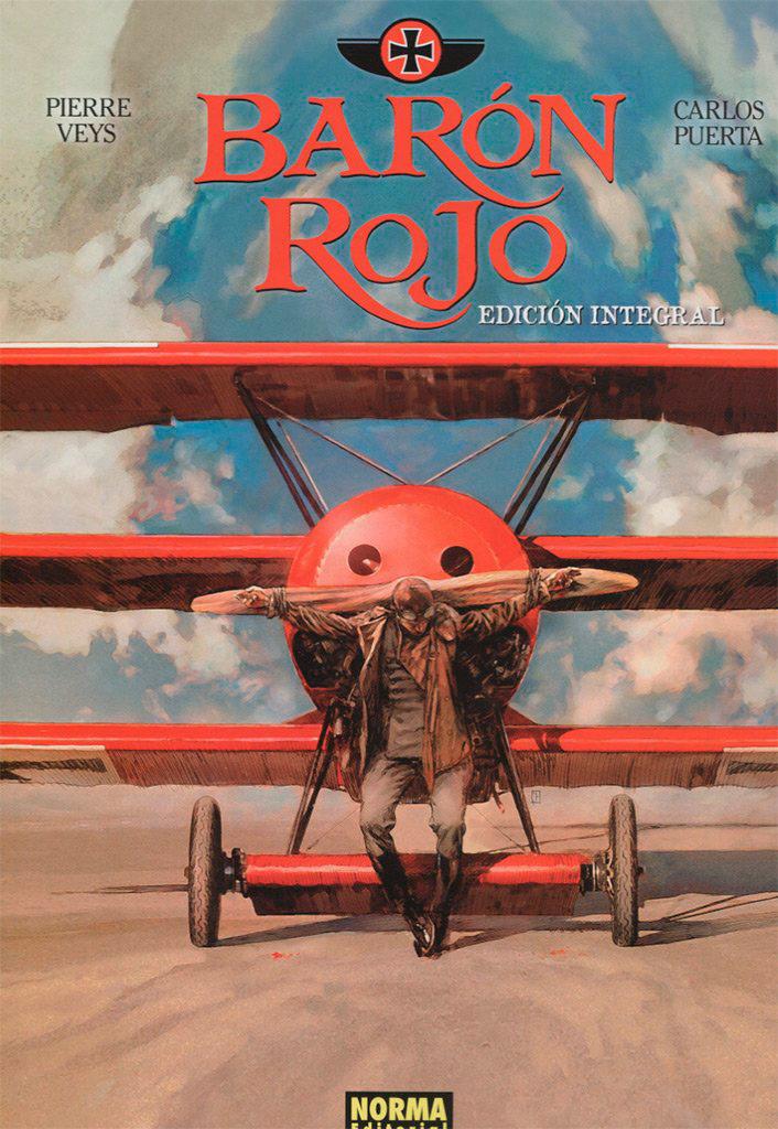 Portada libro - Barón Rojo. Edición Integral