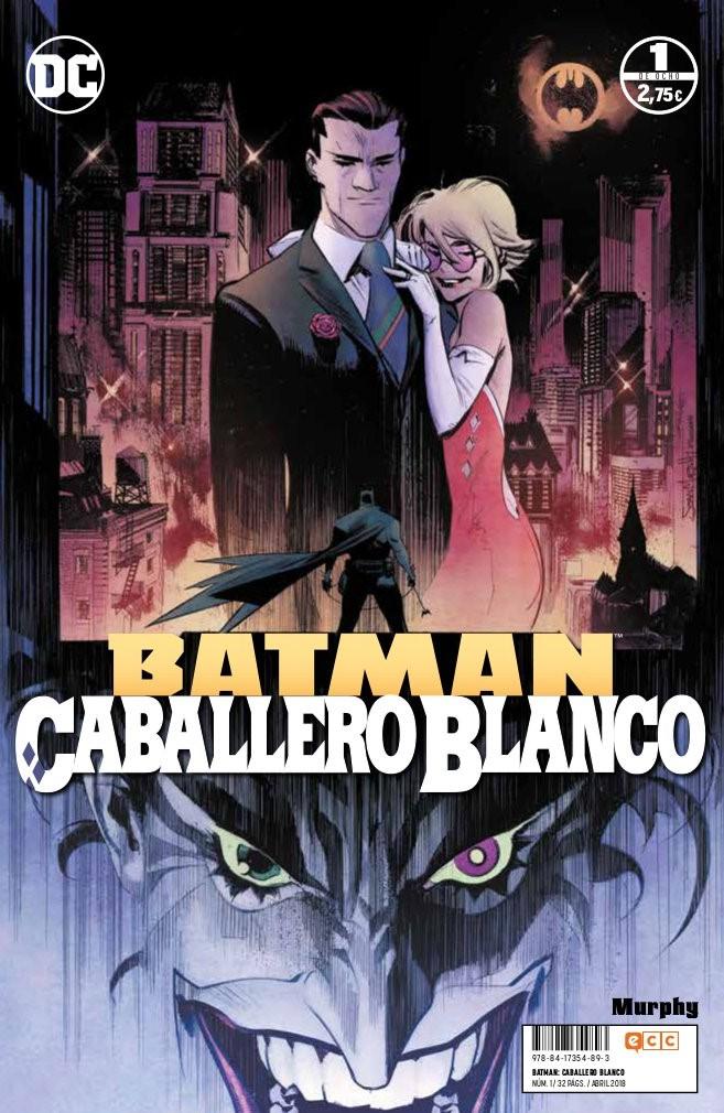 Portada libro - Batman Cabellero Blanco Vol. 1