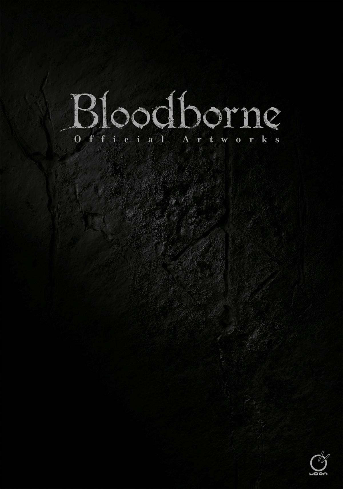 Portada libro - Artbook oficial Bloodborne
