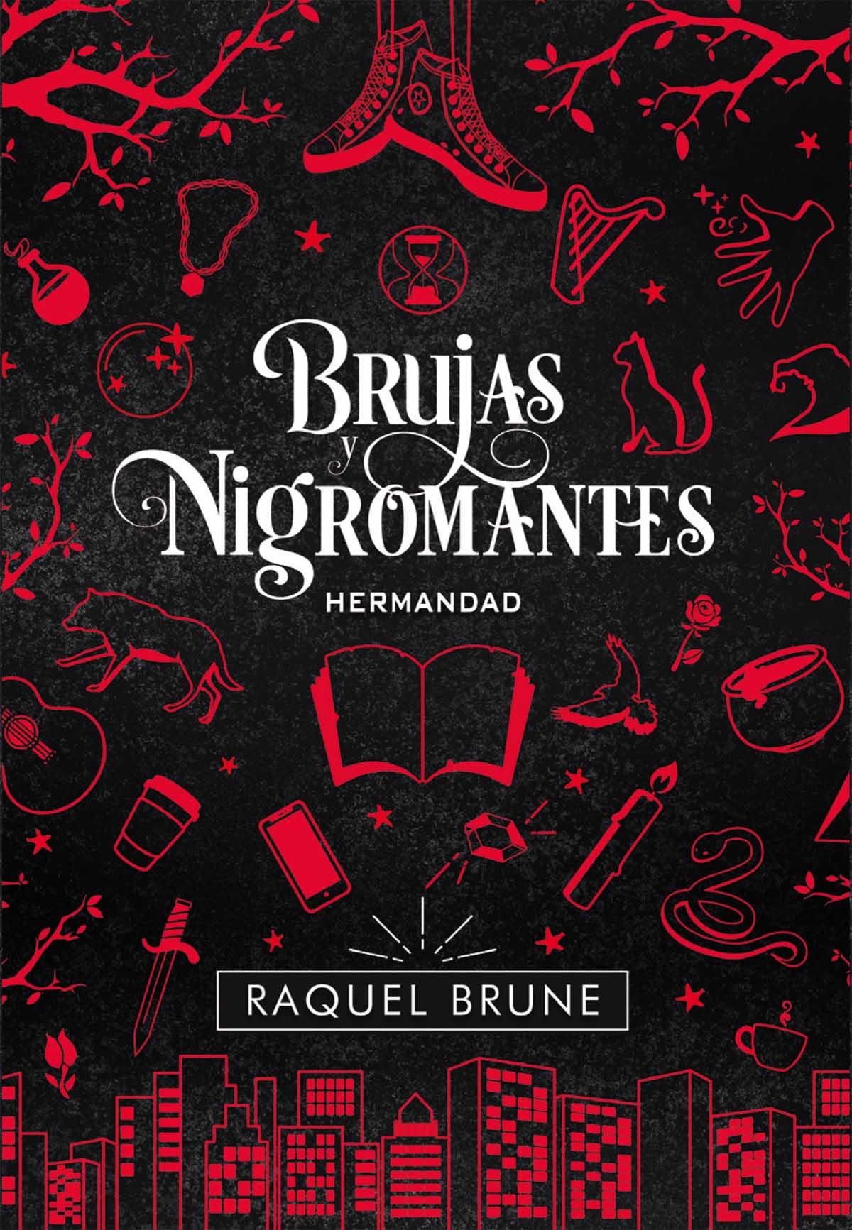 Portada libro - Brujas y Nigromantes: Hermandad