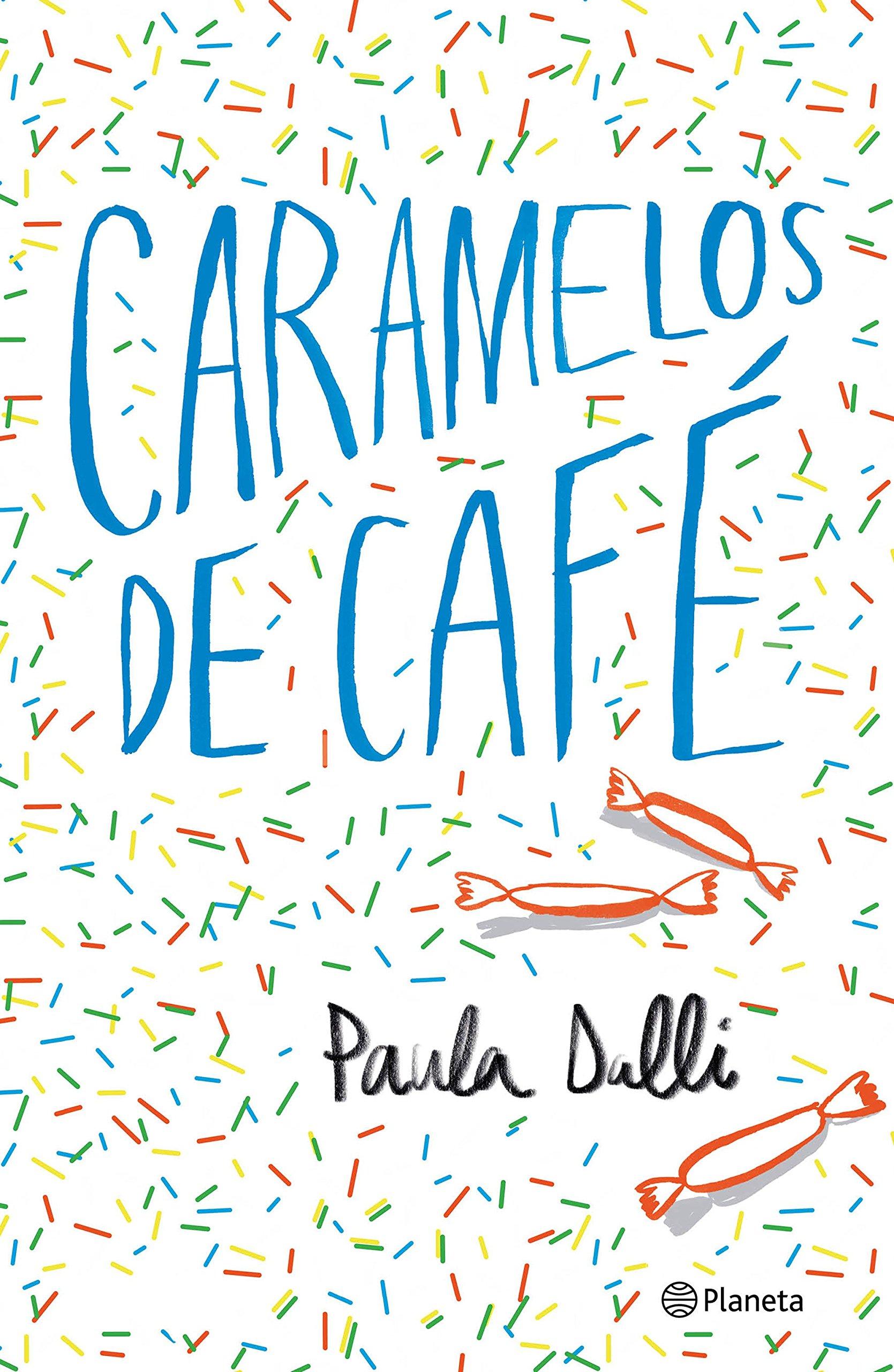 Portada libro - Caramelos de Café