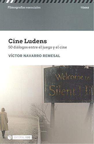 Portada libro - Cine Ludens. 50 diálogos entre el juego y el cine