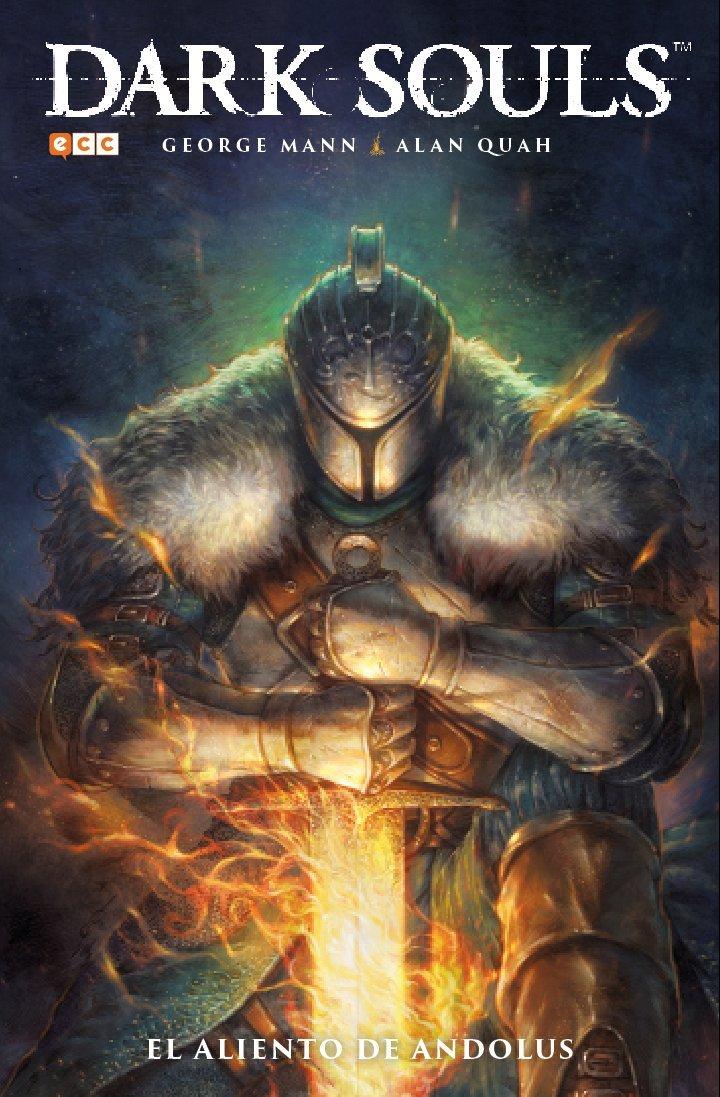 Portada libro - Dark Souls: El aliento de Andolus