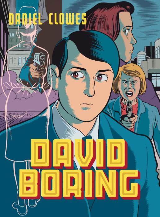 Portada libro - David Boring
