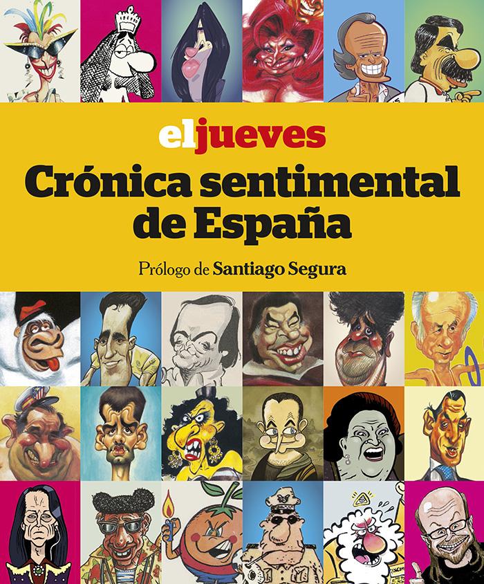 Portada libro - El jueves: Crónica sentimental de España