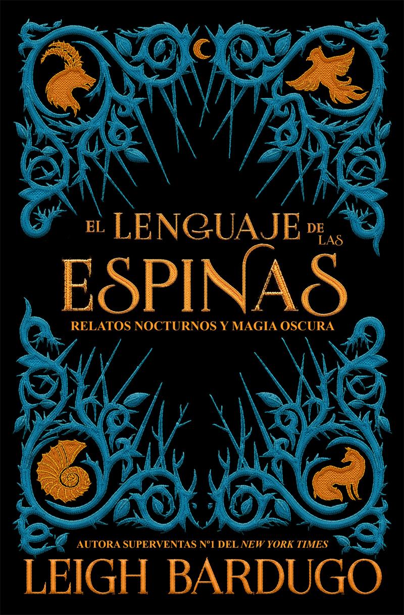 Portada libro - El lenguaje de las espinas