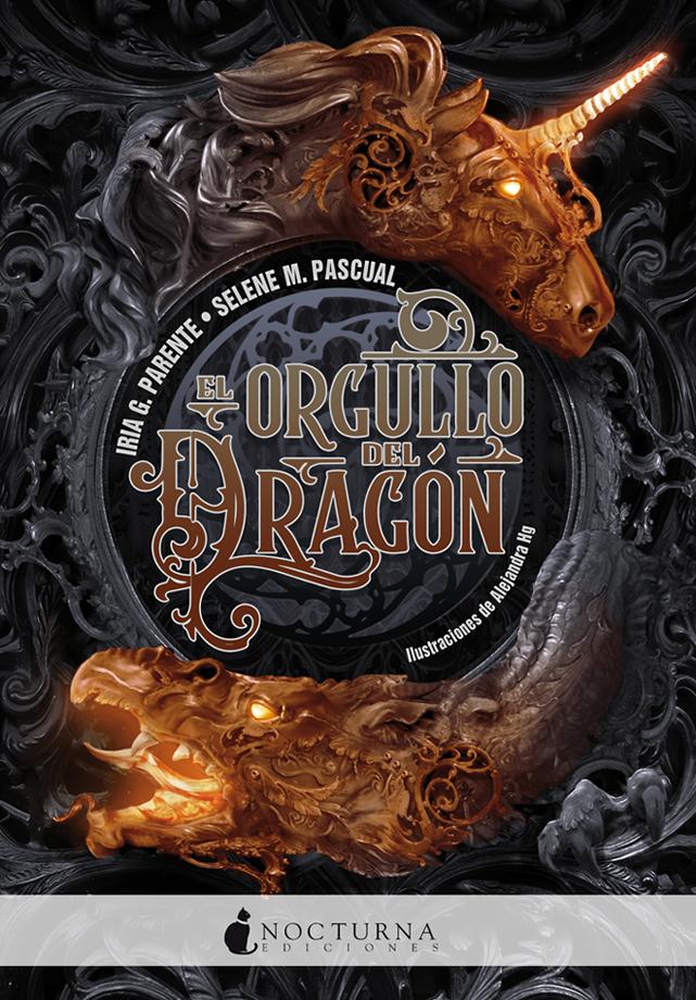 Portada libro - El orgullo del dragón