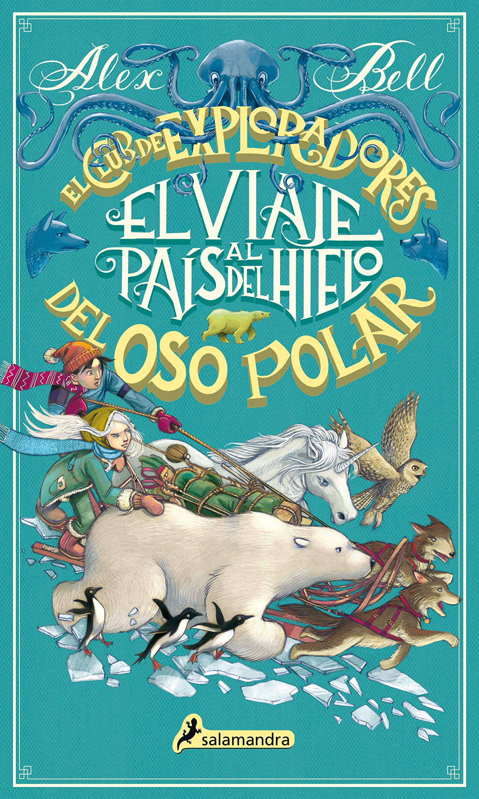 Portada libro - El viaje al país del hielo