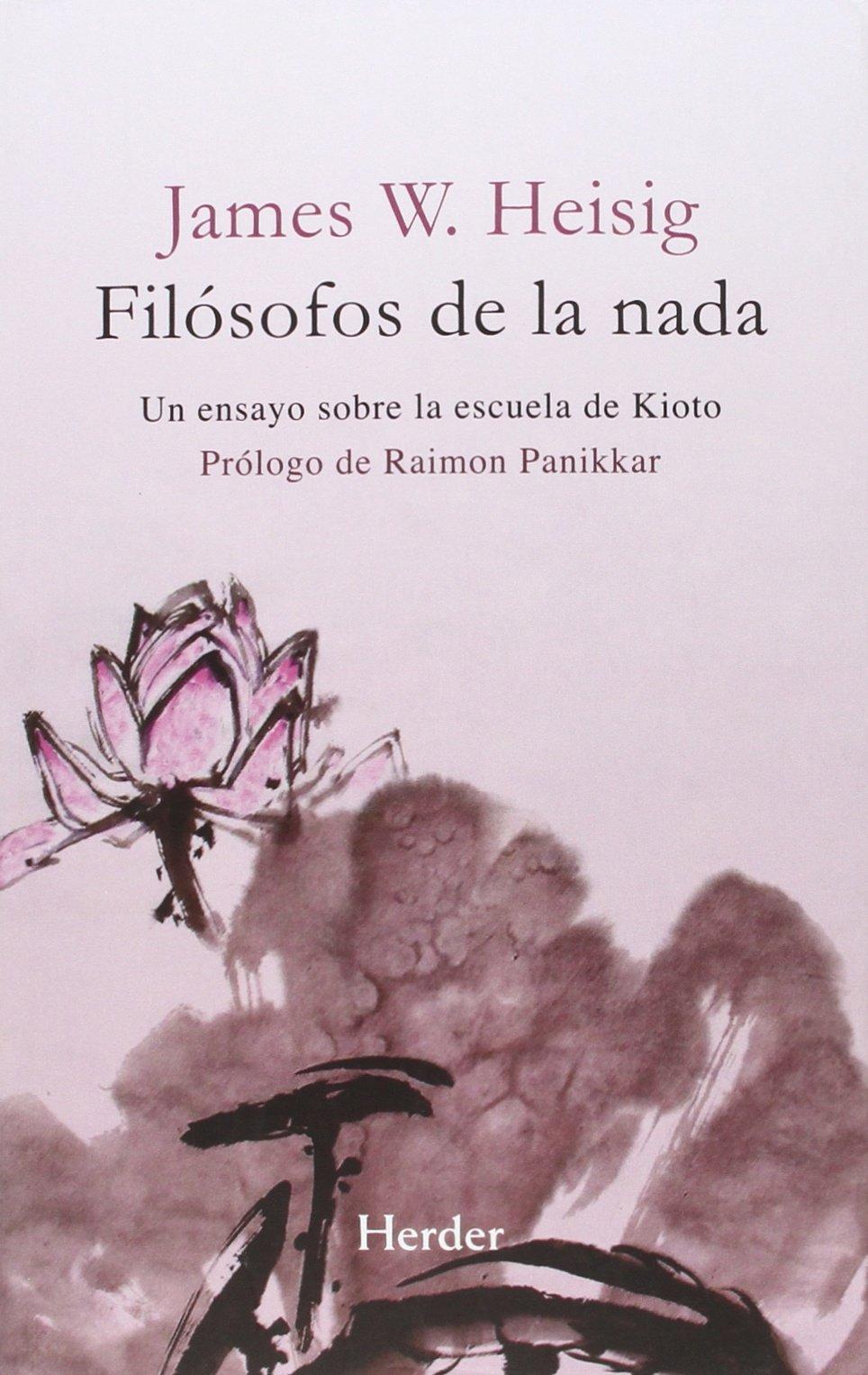 Portada libro - Filósofos de la nada: un ensayo sobre la escuela de Kioto
