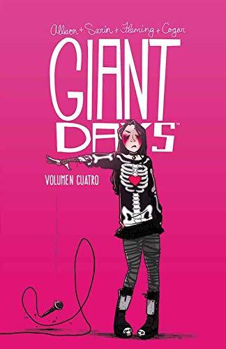 Portada libro - Giant Days Volumen 4