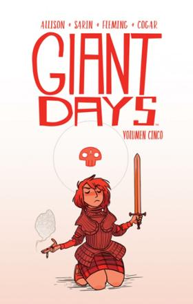 Portada libro - Giant Days volumen 5