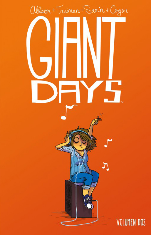 Portada libro - Giant Days Vol. 2