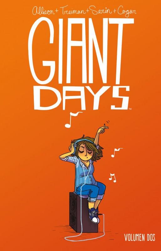 Portada libro - Giant Days Vol. 2